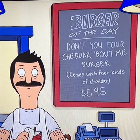 puns bobs burgers the breakfast club funny - 8121974272