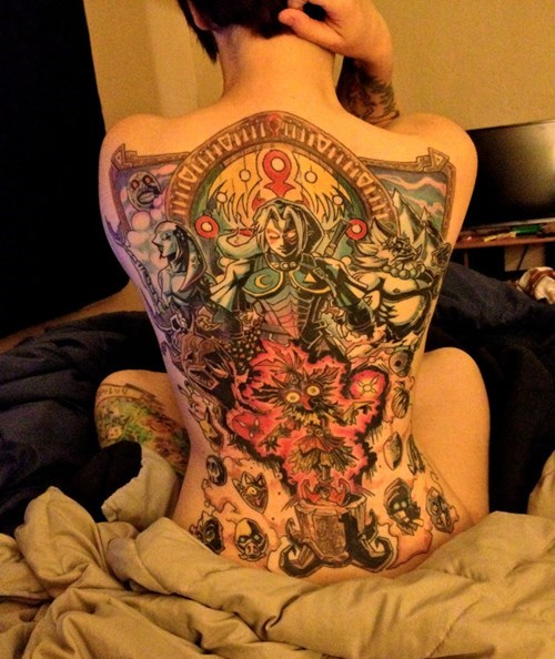 nerdgasm tattoos video games - 8121981184