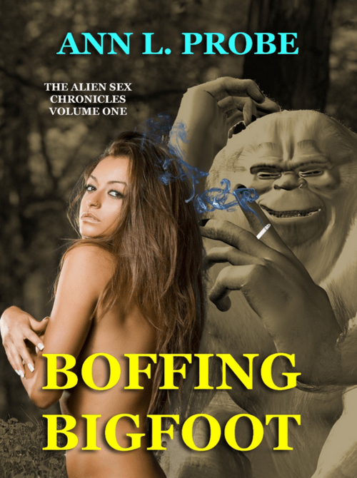 bigfoot Aliens wtf romance books funny - 8121985792