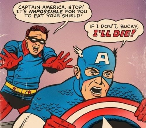 Bucky Barnes Straight off the Page captain america - 8122094080