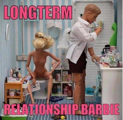 Barbie,relationships,long term,funny,g rated,dating