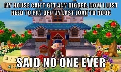 animal crossing,homes,loans
