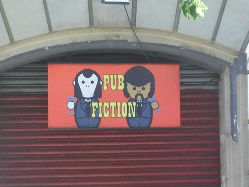 sign pulp fiction pub funny - 8122364160