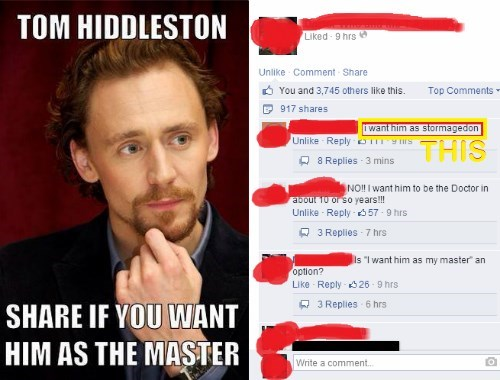 facebook tom hiddleston the master - 8122536448