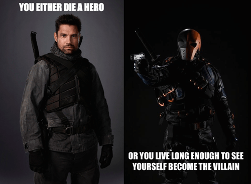 Dark Knight Rises deathstroke
