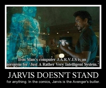 jarvis iron man funny avengers - 8122843648
