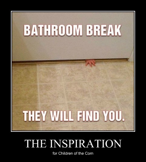 creepy bathroom funny children - 8122850560