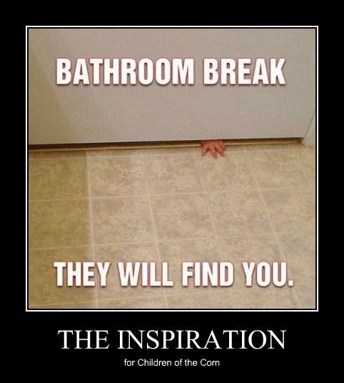 creepy bathroom funny children - 8122850560