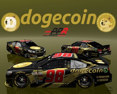 nascar doge bitcoin what dogecoin