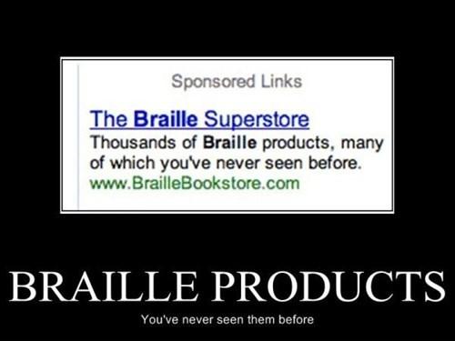 braille blind funny - 8122959104