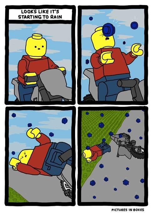 comics,lego,webcomics,lego rain
