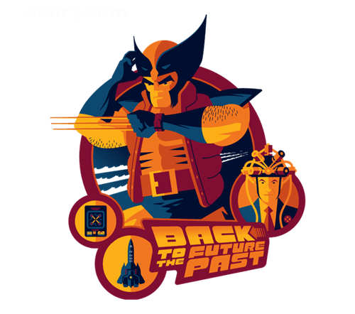 back to the future days of future past wolverine tshirts - 8123129600