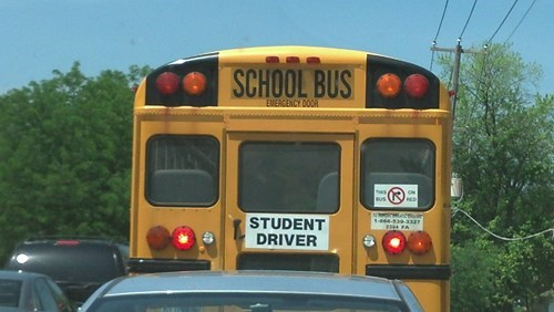 driving funny students school bus g rated School of FAIL - 8123137024
