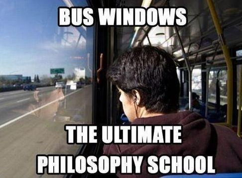 funny,school bus,philosophy
