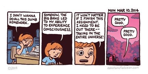 big bang theory homework web comics - 8123161600
