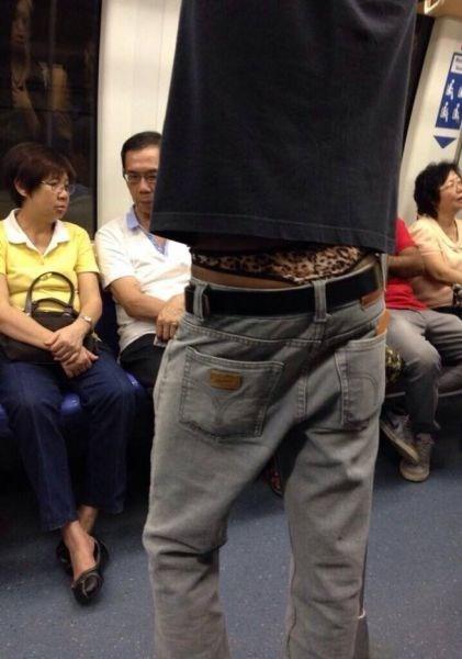 thong poorly dressed Subway - 8123222272