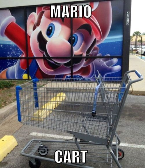 cart puns Mario Kart - 8123229952
