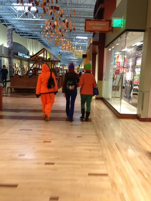 orange,poorly dressed,mall,g rated