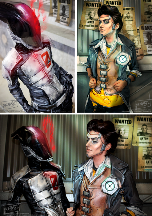 cosplay borderlands 2 zero - 8123270912