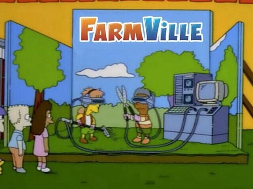 facebook Farmville the simpsons Simpsons Did It oculus rift - 8123310592