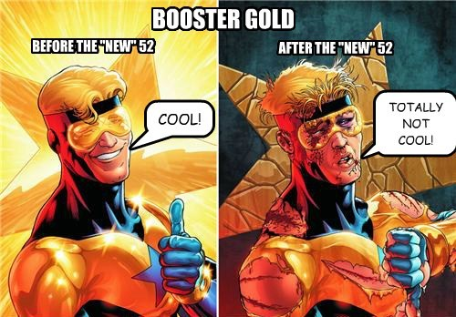new 52,booster,off the page