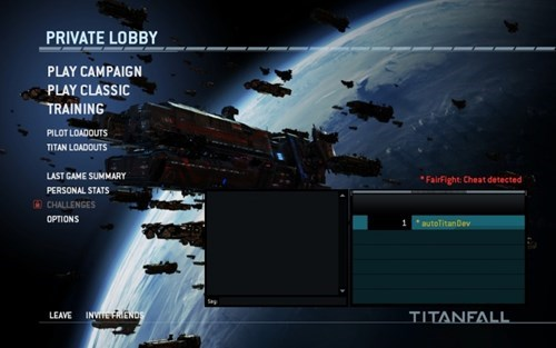Instead of Banning Them, Titanfall is Forcing Cheaters to Play With Other Cheaters