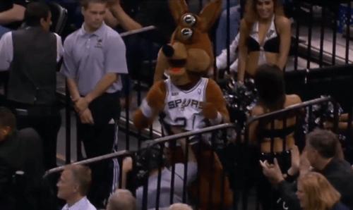 basketball denver nuggets nba Video san antonio spurs the coyote - 8124209664