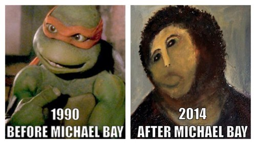 Thanks a bunch, Micheal Bay