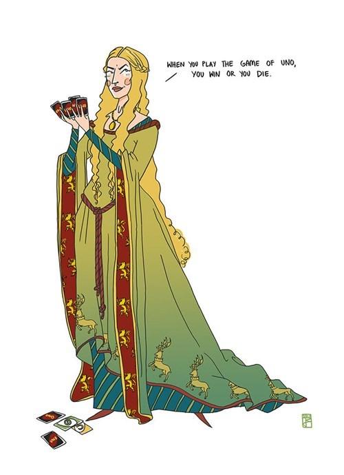 cersei lannister,Fan Art,uno