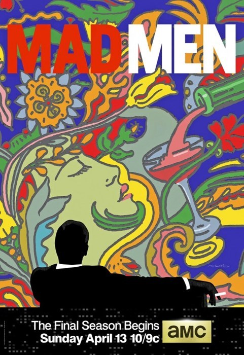 art,mad men,promotion,psychedelic,final season