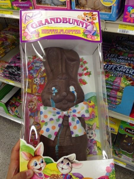 easter kids parenting chocolate bunny - 8124348672