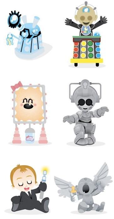Babies Fan Art cute daleks doctor who - 8124374016