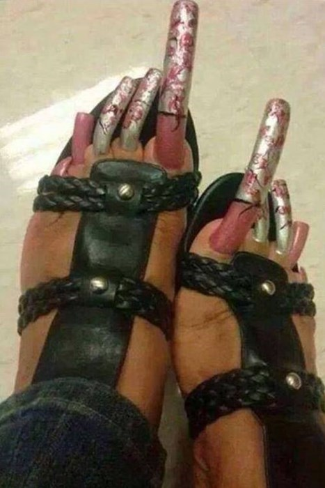 toenails poorly dressed impractical pedicure g rated - 8124406016