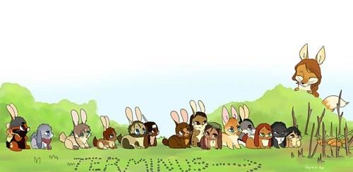 its a trap terminus The Walking Dead rabbits - 8124409856