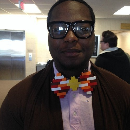 monday thru friday poorly dressed lego bow tie win - 8124410112