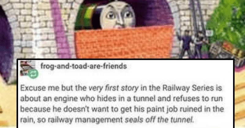 wtf tumblr thomas the tank engine creepy bizarre weird - 8124421