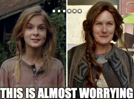 terminus lizzie is crazy The Walking Dead - 8124422400