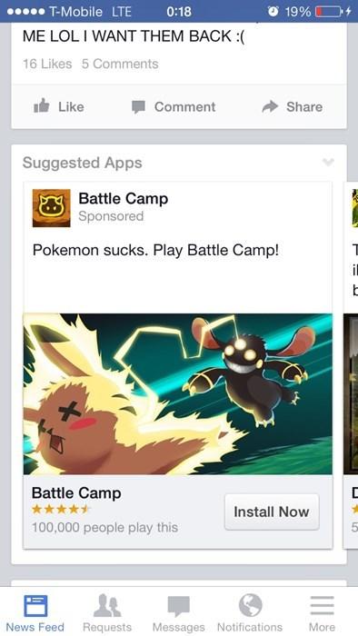 facebook seems legit ripoff battle camp - 8124443904
