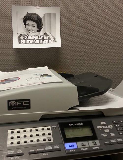 puns monday thru friday snow white work printer g rated - 8124475392
