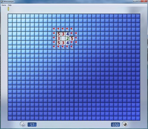 difficulty Minesweeper