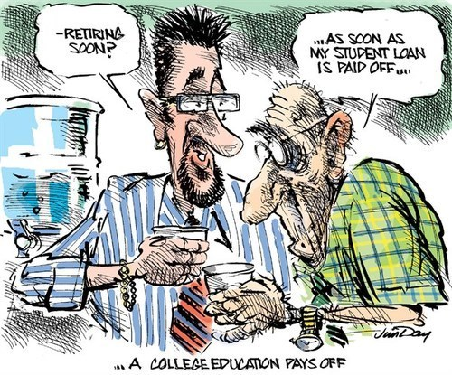 april fools,sad but true,student loans,web comics