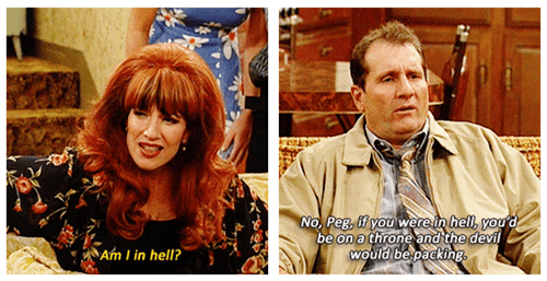 married with children hell marriage TV the devil