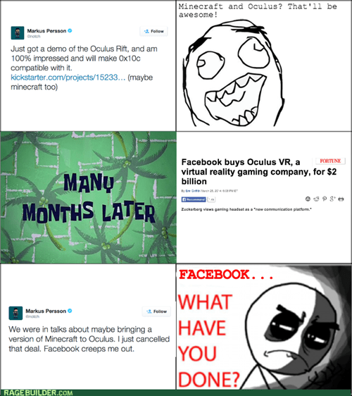 what have you done facebook minecraft - 8124608512