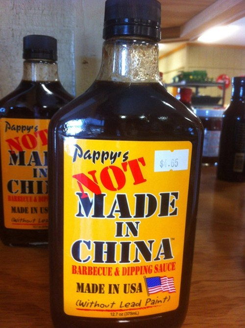 bbq sauce made in china - 8124630784