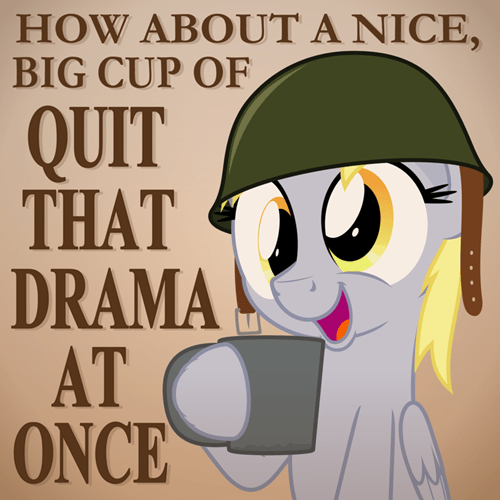 Fan Art drama derpy hooves - 8124857344