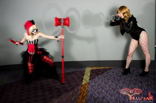 Black Canary cosplay Harley Quinn - 8125395968