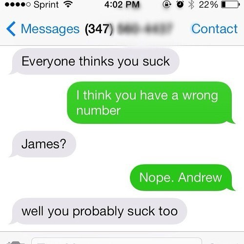 wrong number texting - 8125691136