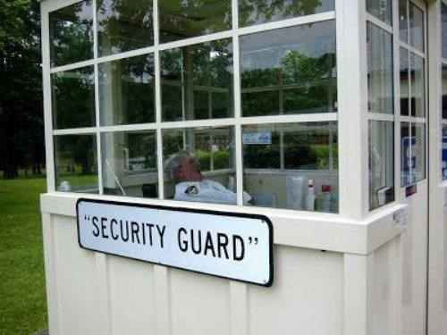 security guards suspicious quotation marks - 8125744128