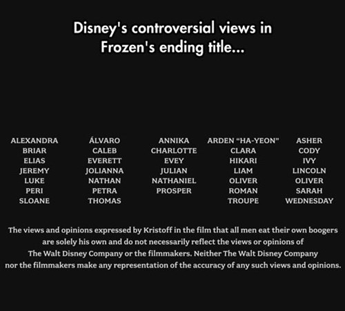 Something to Look Out For During Your Twenty-Eighth Viewing of Frozen