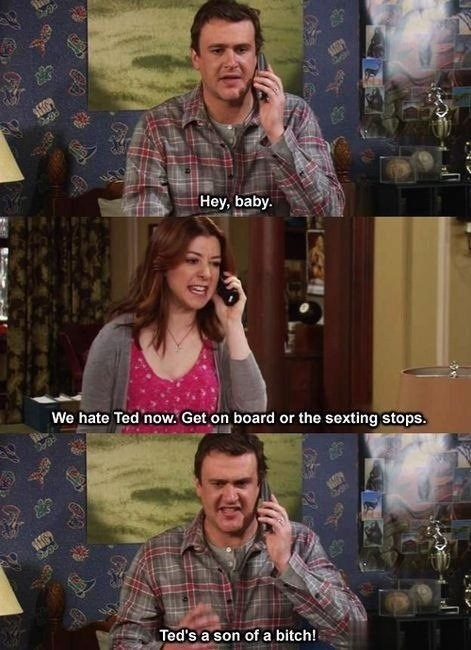 how i met your mother,sexting